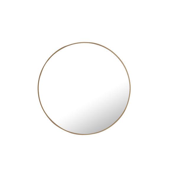 Eternity Brass Round 32-Inch Mirror, image 2