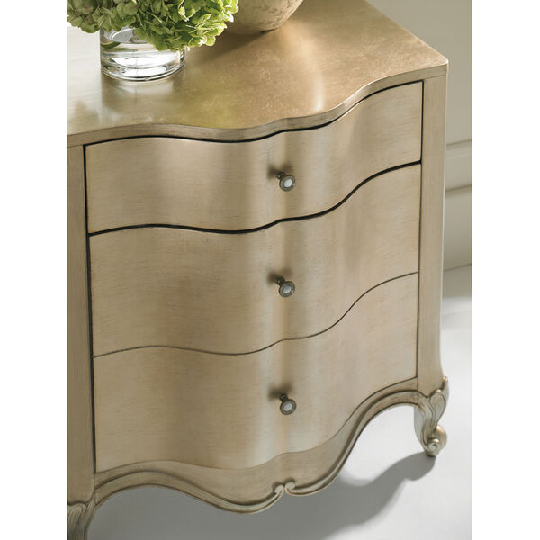 Classic Gold You Are the One Nightstand, image 5