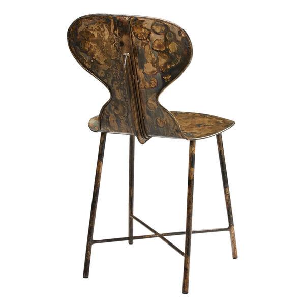 McCallan Acid Washed Metal Chair, image 2