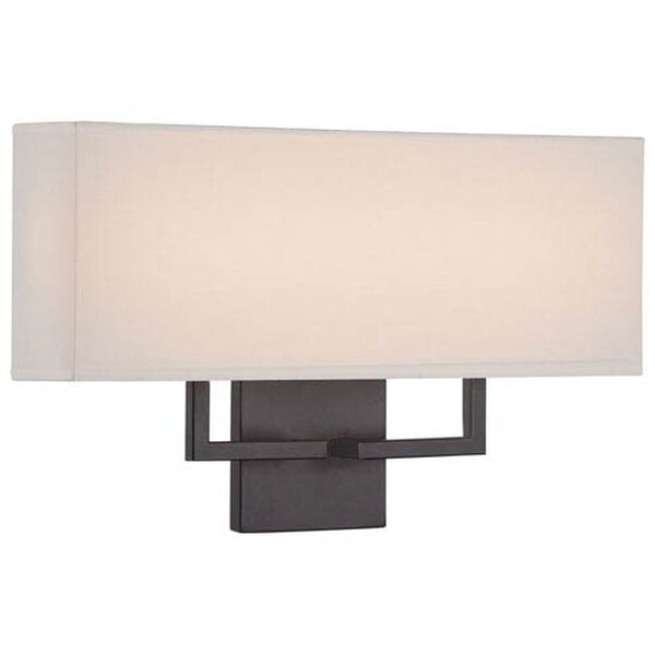 Etta Bronze 17-Inch LED Wall Sconce, image 1