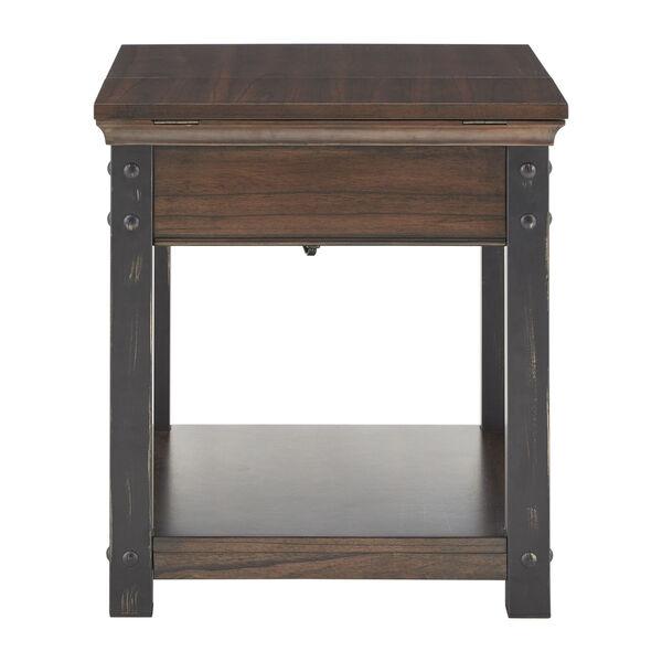 Newton Dark Cherry End Table, image 4