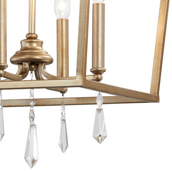 Laurel Estate Brio Gold Four-Light 17-Inch Wide Pendant, image 4