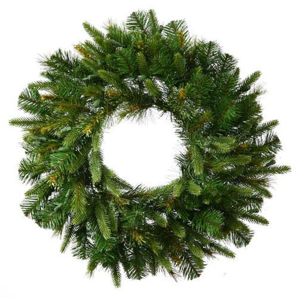 Cashmere Pine 24-Inch Wreath w/120 Tips, image 1