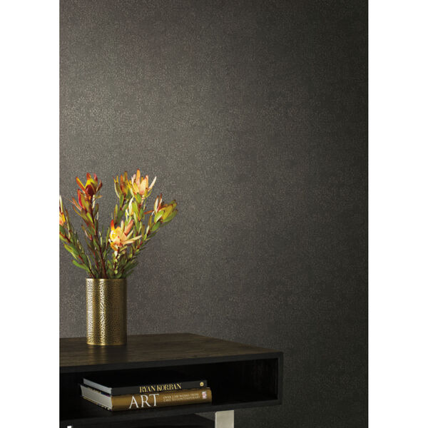 Antonina Vella Elegant Earth Dark Gray Weathered Textures Wallpaper, image 1