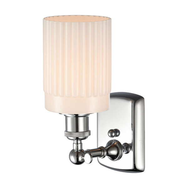 Ballston Polished Chrome Five-Inch One-Light Wall Sconce, image 2