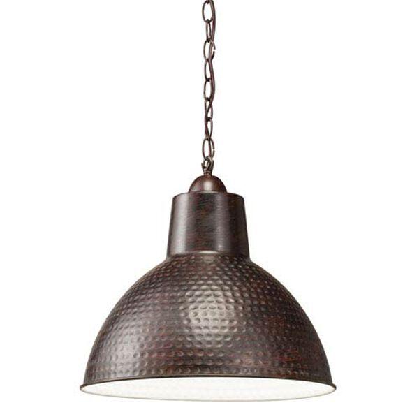 Missoula One-Light Bronze Swag Pendant Lamp, image 1
