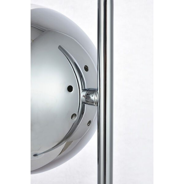 Eclipse Chrome One-Light Table Lamp, image 5