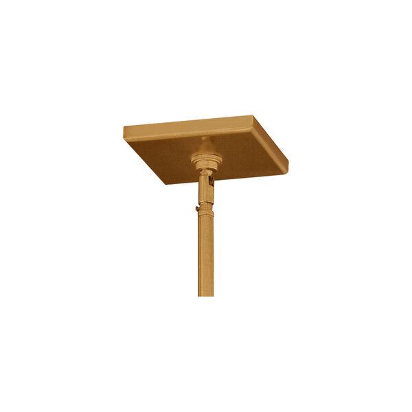Conant Gilded Satin Brass 18-Inch Four-Light Pendant, image 3