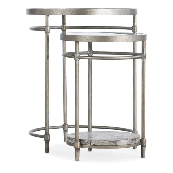 Champagne Nesting Table, image 1