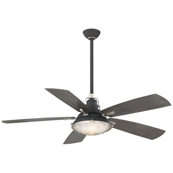 Groton Sand Black and Weathered Steel 56-Inch LED Outdoor Ceiling Fan, image 1