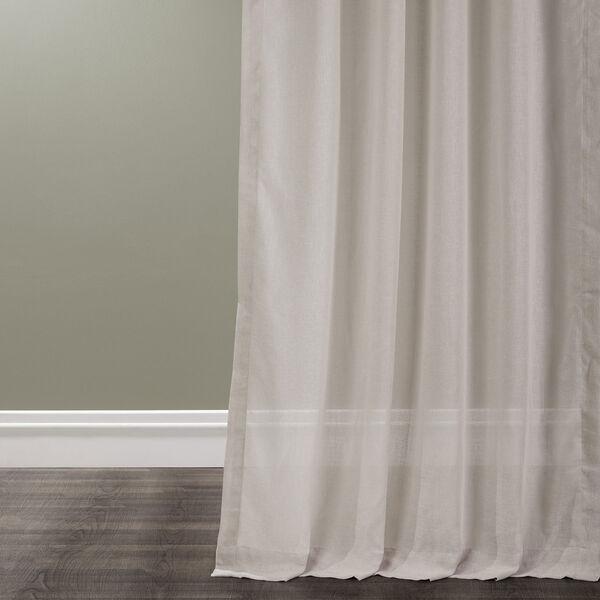 Tumbleweed Faux Linen Sheer Single Panel Curtain Panel, 50 X 108, image 4