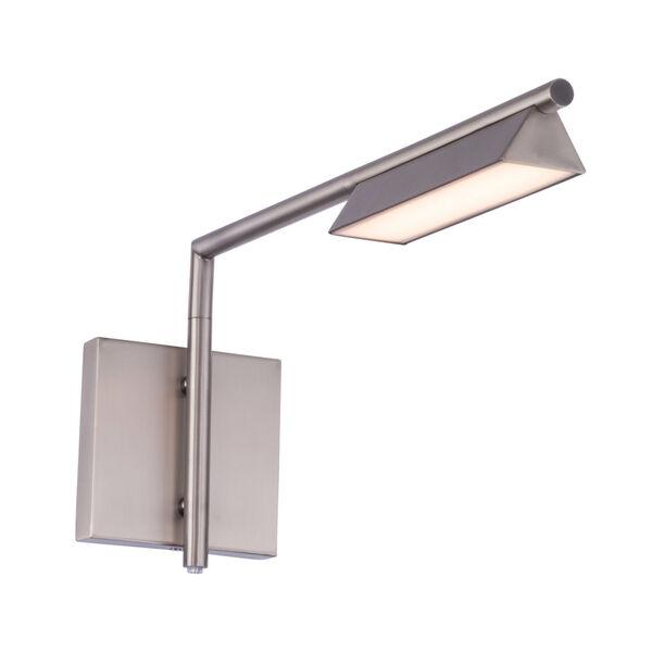 Eero Brushed Nickel LED Swing Arm Wall Light, image 1