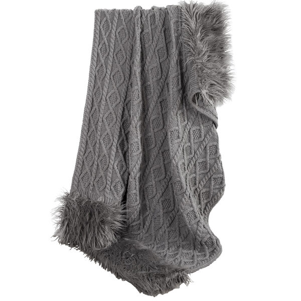 Nordic Gray 50 In. X 80 In. Throw, image 3