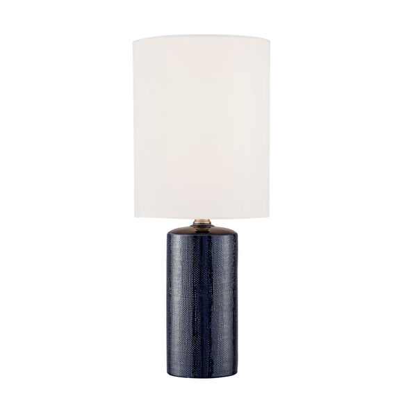 Jackie Navy Blue Two-Light Table Lamp, Set of Two, image 4