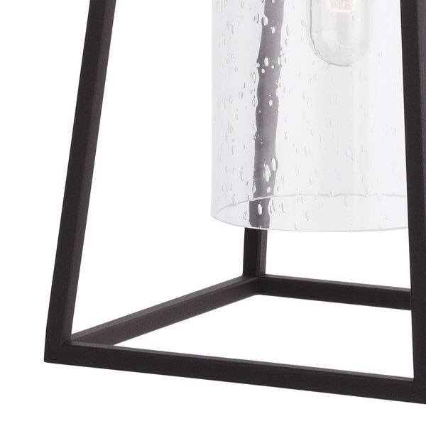 Nash Textured Black Seven-Inch One-Light Outdoor Wall Sconce with Dusk to Dawn Sensor, image 2