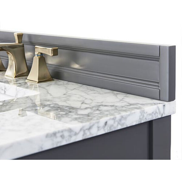 Adeline Sapphire 60-Inch Vanity Console with Farmhouse Sinks, image 2