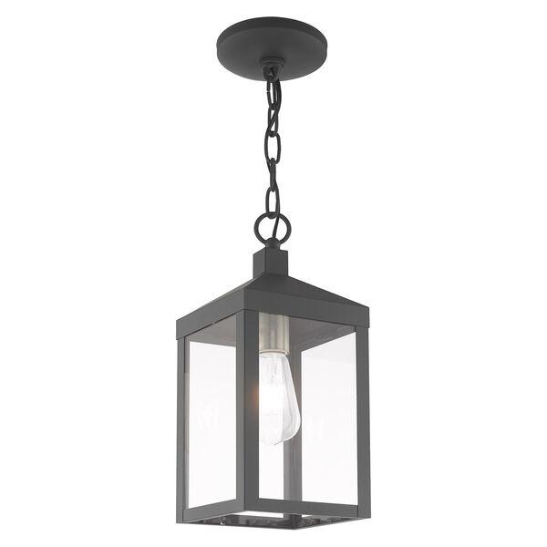 Nyack Gray Pendant Lantern, image 4