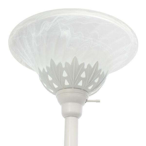 Quince White Three-Light Floor Lamp, image 6