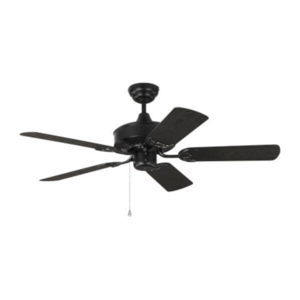 Haven Matte Black 44-Inch Outdoor Ceiling Fan, image 1