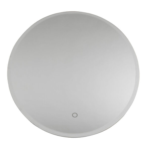 Lunar White 24-Inch LED Wall Mirror, image 1