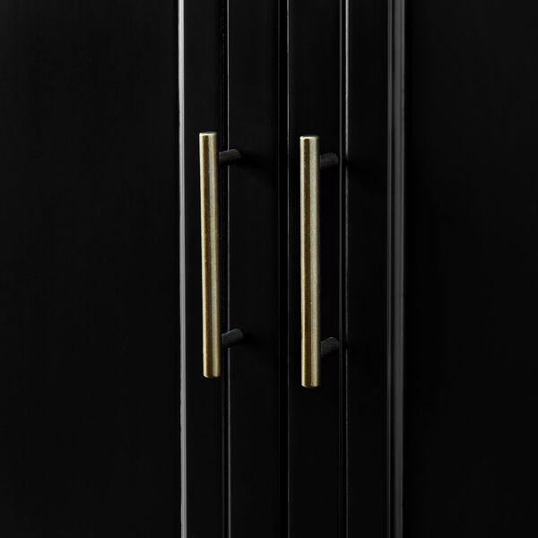 Laurel Black Sideboard with Four Door, image 5