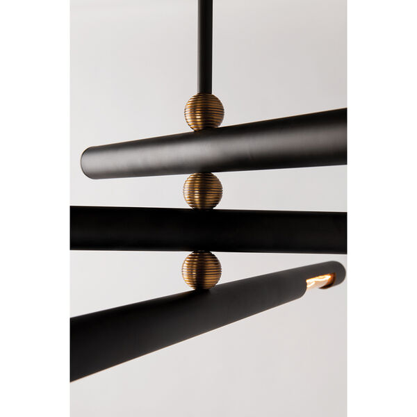 Hendrix Chemical Bronze Six-Inch Two-Light Wall Sconce, image 2