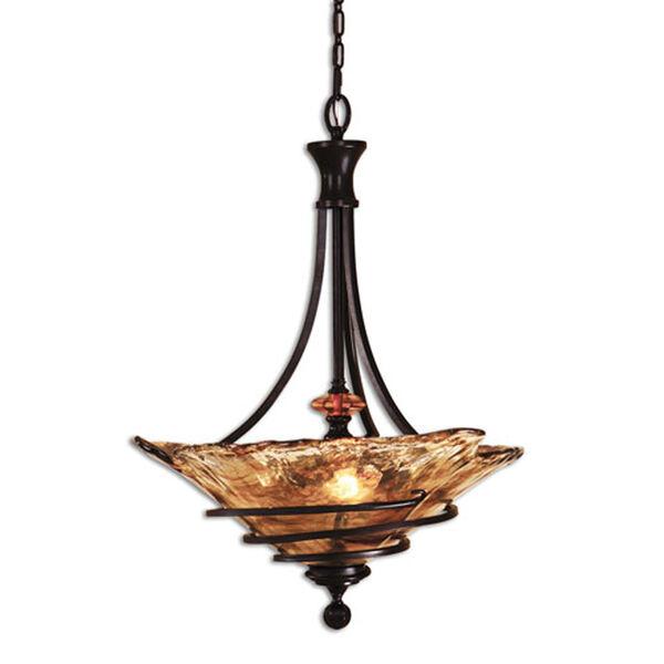 Vitalia Three-light Bowl Pendant, image 1