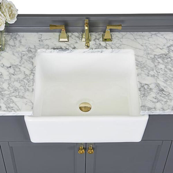 Adeline Sapphire 36-Inch Vanity Console with Farmhouse Sink, image 6