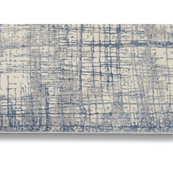 Rush Ivory Blue Area Rug, image 3