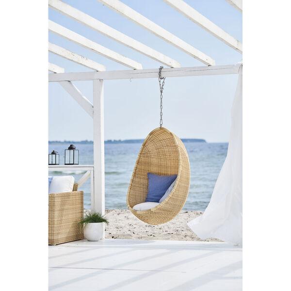 Sika Design Nanna Ditzel Hanging Egg Chair - Alu-Rattan Natural