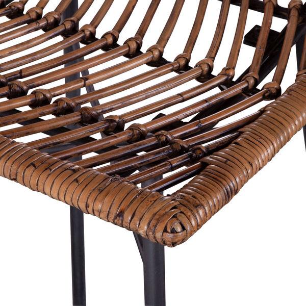 Bali Brown Honey Washed Bar Chair, Set of 2, image 3