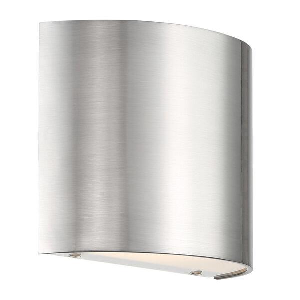 Pocket Brushed Nickel Three-Inch LED Wall Sconce, image 1