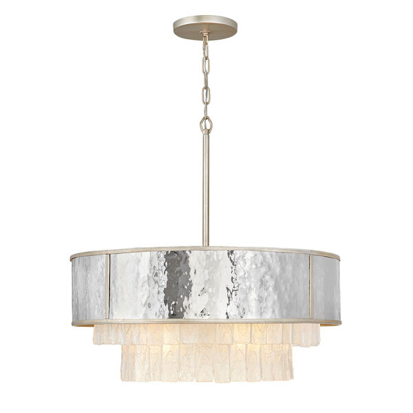 Reverie Champagne Gold 26-Inch Eight-Light Chandelier, image 1