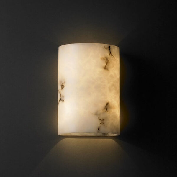 ADA Small Cylinder Wall Sconce, image 1