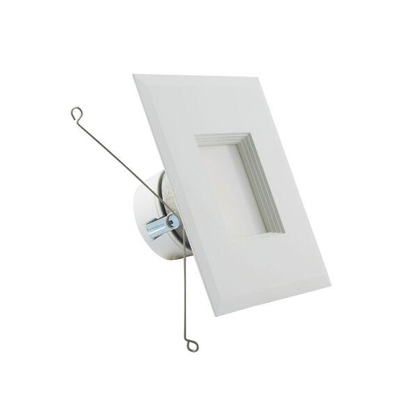 ColorQuick White 7-Inch LED Square Downlight Retrofit, image 1