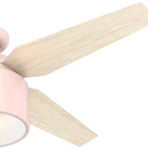 Cranbrook Low Profile Blush Pink 52-Inch LED Ceiling Fan, image 3