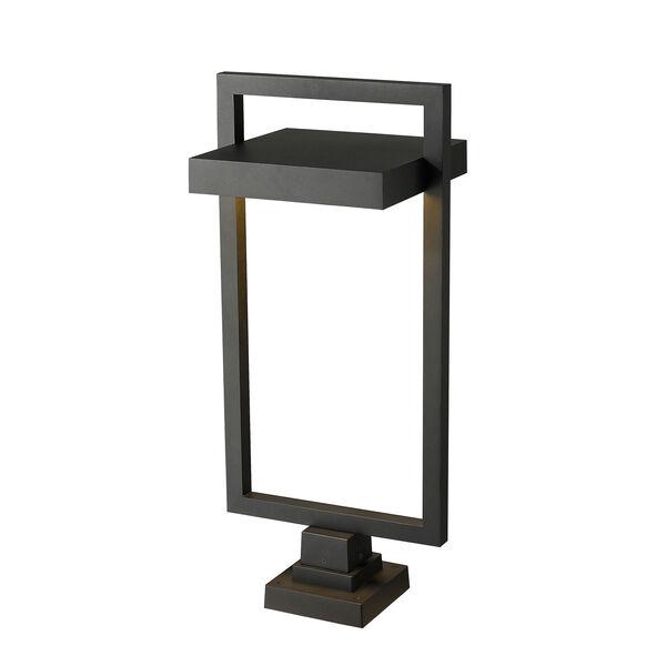Luttrel Black 32-Inch One-Light LED Outdoor Pier Mount, image 5