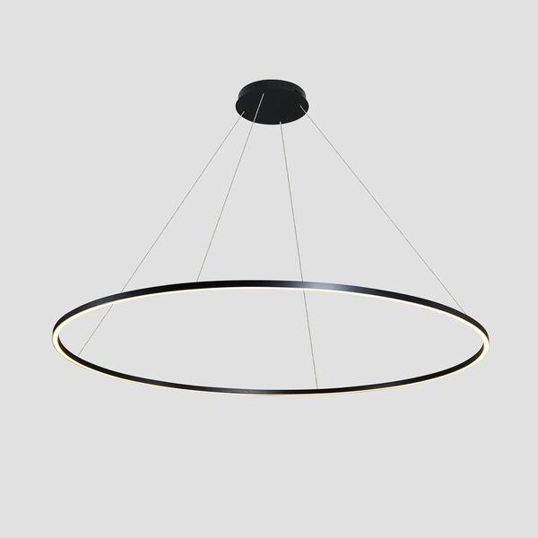 Tania Black 60-Inch LED Adjustable Chandelier, image 4