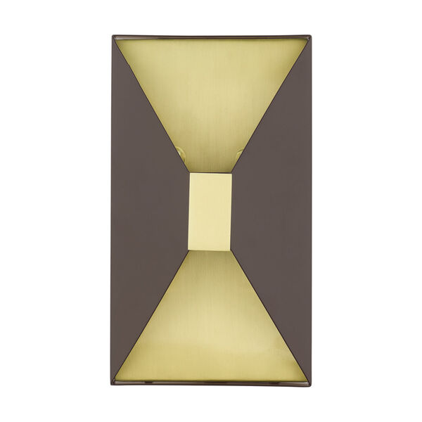 Lexford Bronze Two-Light ADA Wall Sconce, image 2