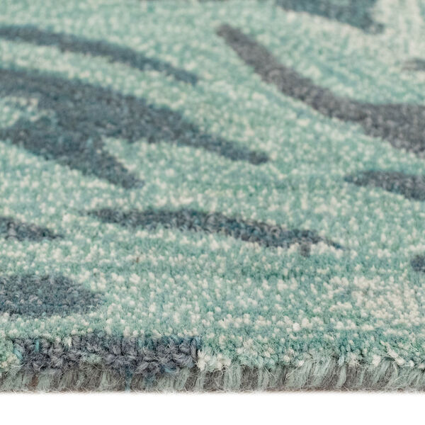 Liora Manne Corsica Aqua 7 Ft. 6 In. x 9 Ft. 6 In. Storm Indoor Rug, image 4