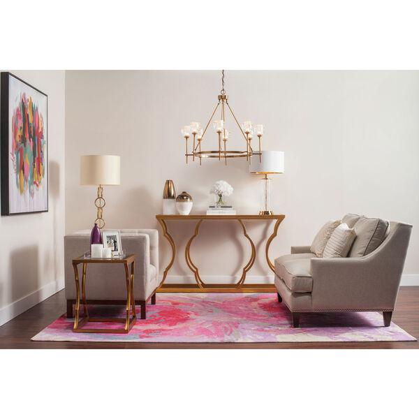 Monroe White and Copper Vase Set, image 4