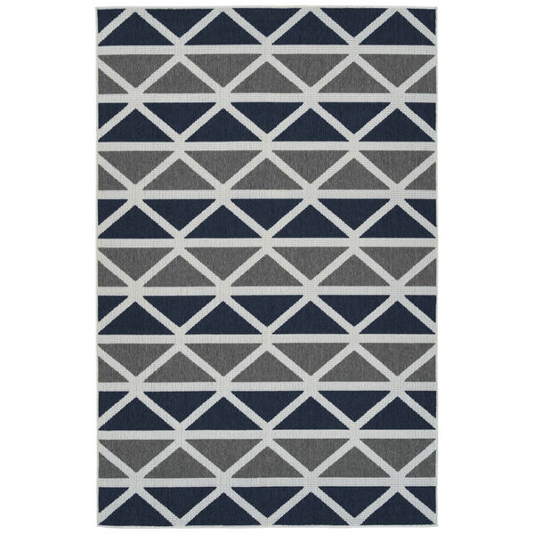 Puerto Gray Pattern Indoor/Outdoor Rug, image 1