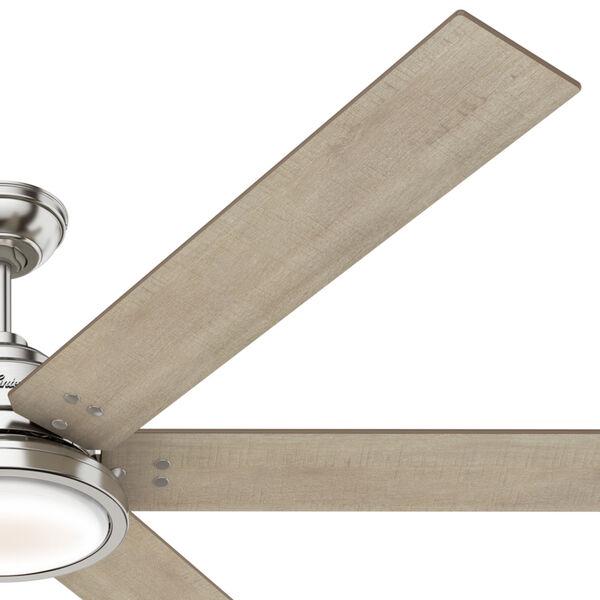 Warrant Brushed Nickel 70-Inch DC Motor LED Ceiling Fan, image 6