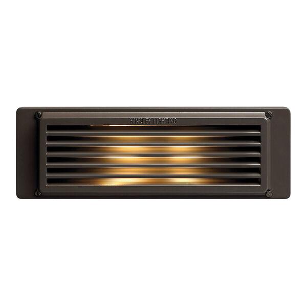 Bronze Line Voltage 10-Inch LED Landscape Deck Light, image 1