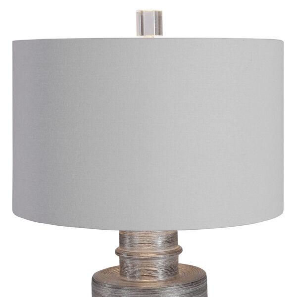 Anitra Metallic Silver 1-Light Table Lamp, image 6