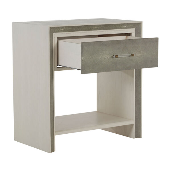 Alford White and Gray Nightstand, image 2