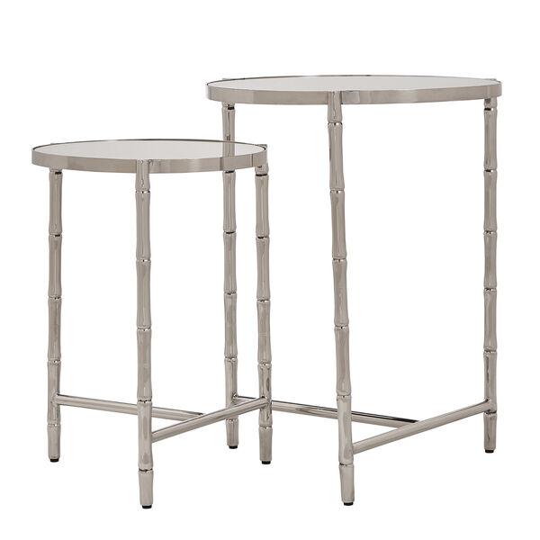 Milo Silver Nesting Table , image 1