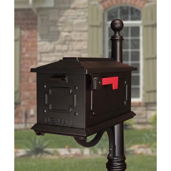 Kingston Black Curbside Mailbox, image 1
