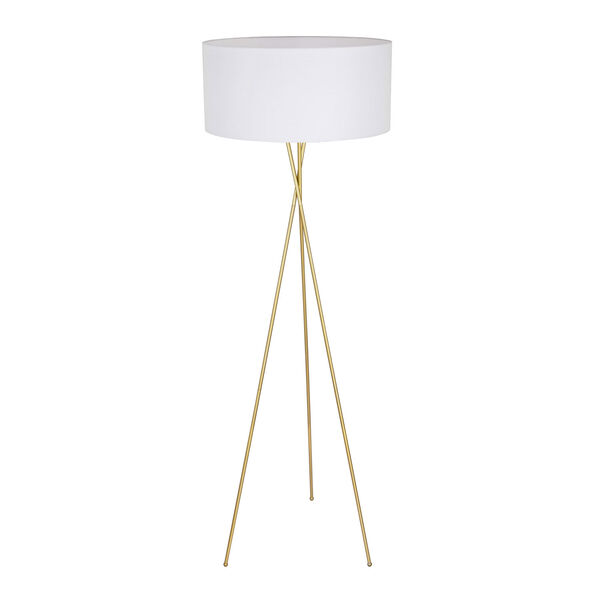 Cason Brass 66-Inch One-Light Floor Lamp, image 4