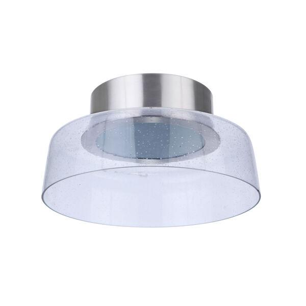 Centric Brushed Polished Nickel 11-Inch LED Flushmount, image 5